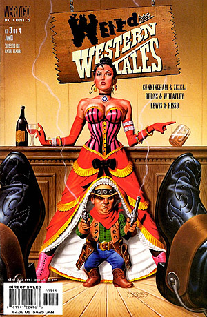 Weird Western Tales Issue 1