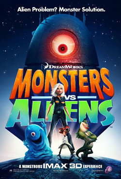 MONSTERS VS ALIENS movie review