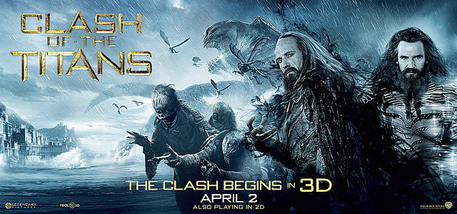 Clash of the Titans long poster