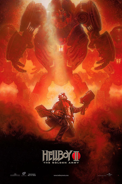 Hellboy 2 early poster