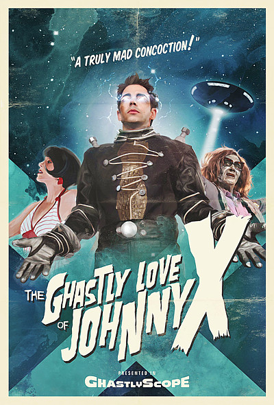 The Ghastly Love of Johnny X in blue