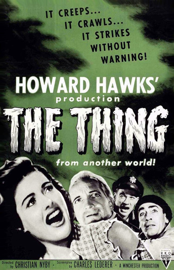 The Thing green poster